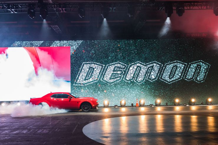 Image 2 for Dodge Demon Breaks Free at New York Auto Show