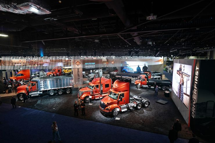 Image 4 for International Trucks Takes on the North American Commercial Vehicle Show 2017