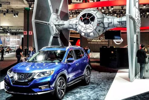 Image 5 for Nissan Rogue Launch at the Los Angeles Auto Show