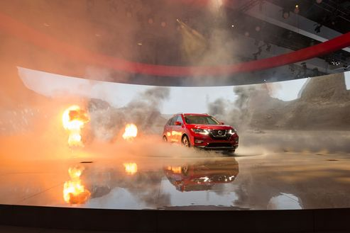 Image 2 for Nissan Rogue Launch at the Los Angeles Auto Show