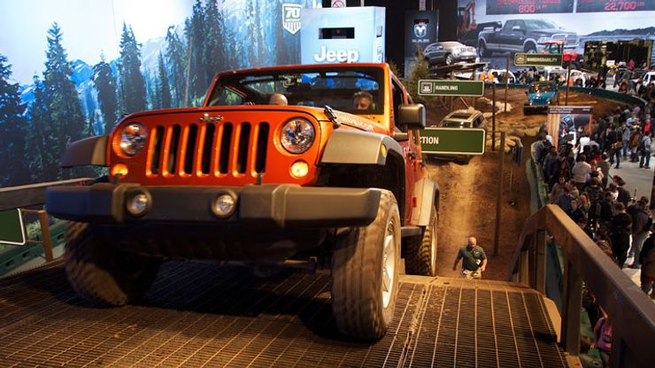 Image 1 for Camp Jeep at the Chicago Auto Show