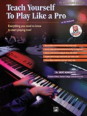 Alfred's Teach Yourself to Play Like a Pro at the Keyboard [Electronic Keyboard]