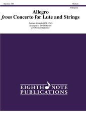 Allegro from Concerto for Lute and Strings