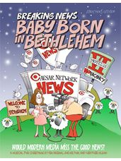 Breaking News Baby Born in Bethlehem