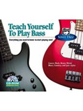 Alfred's Teach Yourself to Play Bass [Bass Guitar]