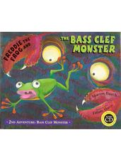 Freddie The Frog Bass Clef Monster