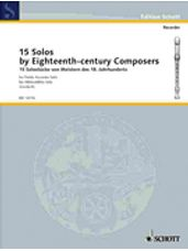 15 Solos by Eighteenth-Century Composers (Recorder)