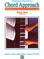 Alfred's Basic Piano Chord Approach Technic Book 2