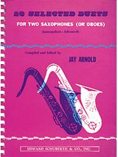 28 Selected Duets For Two Saxophones (Or Oboes): Book 2