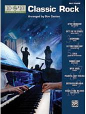 10 for 10 Sheet Music: Classic Rock