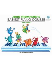 John Thompson's Easiest Piano Course Part 3 - Book/Audio