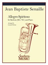 Allegro Spiritoso (for Baritone B.C., T.C. or Trombone)