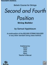2nd and 4th Position String Builder [Teacher's Manual]