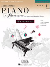 Accelerated Piano Adventures For The Older Beginner, Christmas 1