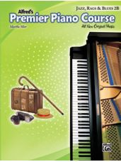 Alfred's Premier Piano Course: Jazz, Rags & Blues Book 2B