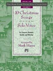 10 Christmas Songs for Solo Voice (Book/CD)