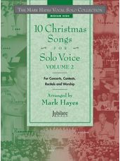 10 Christmas Songs for Solo Voice, Volume 2 (Book/CD)