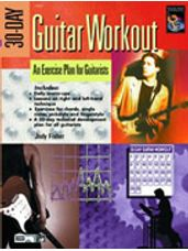 30-Day Guitar Workout (Book and DVD)