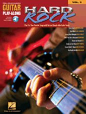 Hard Rock Guitar Play-Along (BK/CD)