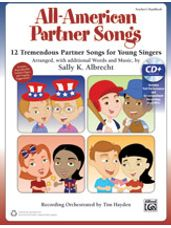 All-American Partner Songs (Book and CD)