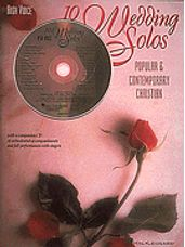 10 Wedding Solos (Book and CD)